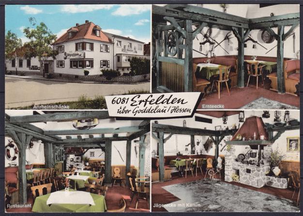 AK Erfelden Altrheinschänke, Gaststätte, Restaurant, Jägerecke ...